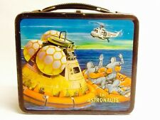 Vintage 1969 Space The Astronauts NASA Moon Metal Lunchbox by ALADDIN