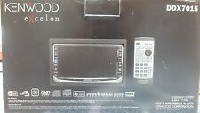 Kenwood Excelon DDX7015 Monitor w/ DVD Receiver Plus TV'S for Headrest