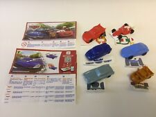 Kinder Surprise Disney Cars 2 Limited Edition Complete Set Of 6 INDIA RARE 2016