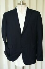 Louis Vuitton Uniformes BLACK 2 BUTTON 44R 54R BLAZER JACKET SPORTCOAT WOOL