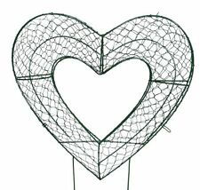 "Heart 12 ""H Animal Topiary Frame, Made at SK topiary"