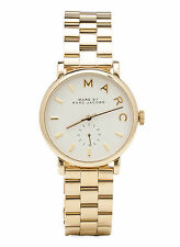 NEW Marc by Marc Jacobs MBM3243 Baker Gold-Tone Stainless Steel Women's Watch
