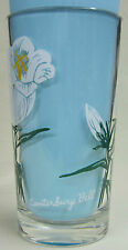 Canterbury Bell Peanut Butter Glass Glasses Drinking Kitchen Mauzy 41-1