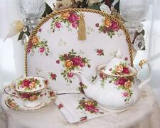 ROYAL ALBERT OLD COUNTRY ROSES Fabric TEAPOT TEA  COZY...LIMITED!!!