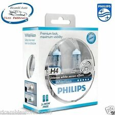 Lampade Luce Bianca Land Rover Defender 90  Philips H4 WHITEVision