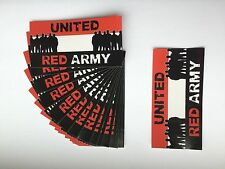 20 Manchester united ultras football stickers MUFC RED ARMY AMF MAN UTD