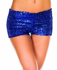 Sexy Mini Sequin Casual Night Elastic Pants Bottoming Shorts Clubwear One Size