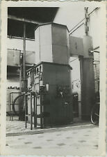 PHOTO ANCIENNE - VINTAGE SNAPSHOT -CURIOSITÉ INDUSTRIE MACHINE USINE AIR LIQUIDE