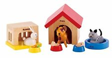 Hape - Happy Family Doll House - Furniture - Family Pets , New, Free Shipping