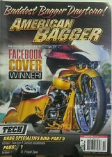 American Bagger February 2016 Facebook Cover Winner Daytona FREE SHIPPING sb
