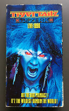 TIGERTAILZ - Bezerk Live 1990 VHS Video Good+ Glam Rock RARE USA NTSC