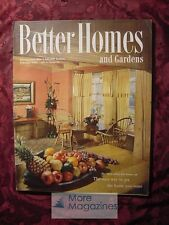 Better Homes and & Gardens FEBRUARY 1951 Home Building Decorating Gardening