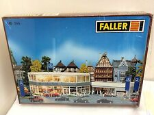 FALLER HO Scale (1/87) 344 Mercedes Dealership        KIT