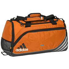 adidas Team Speed Training DUFFEL Bag GYM Fitness Soccer Travel Brand New ORANGE