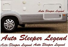 AUTO SLEEPER LEGEND 4 PIECE KIT DECALS STICKERS CHOICE OF COLOURS & SIZES