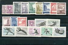 Austria / Two compl. Sets of MNH Stamps from 1948 und 1963