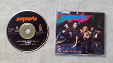 """CD AUDIO INT/ EXTREME """"MORE THAN WORDS"""" CD MAXI PROMO 1991 A&M RECORDS 3 TRACK"""