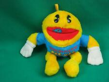 VINTAGE HUNGRY FOR YOU PAC-MAN ARCADE GAME PLUSH STUFFED ANIMAL NUTSHELL TOY