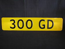 Showroom licence plate Mercedes-Benz 300 GD (JS)