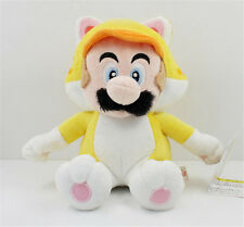 "Hot 7.5"" Super Mario Bros Cat Mario Plush Toys Cute Kids Stuffed Doll Toys Gift"