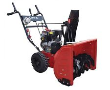 "DAYE DS24E 24"" Electric Start 2-Stage Snow Thrower Powered By LCT Gas Engine"