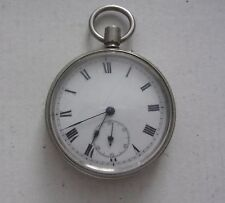 ANTIQUE FRENCH POCKET WATCH MISSING CROWN
