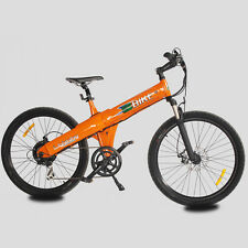 "New Orange 48V 500W city electric bicycle E bike moped 26"" lithium-ion battery"