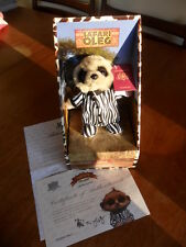 Genuine Safari Baby Oleg Limited Edition Toy with Certificate and Letter BNIB