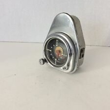 WORKING 1951 FORD CLOCK, CLEAN ORIGINAL,  WIND-UP,  BORG,  DOES NOT FIT WAGON