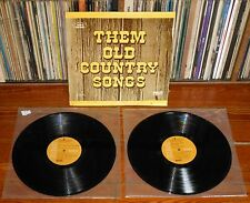 THEM OLD COUNTRY SONGS 2xLP RCA Hank Snow Jerry Reed Waylon Jennings Chet Atkins