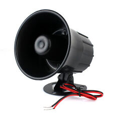 ES-626 12v Small 120 dB alarm Speakers Horn Siren Home Security Hot+Track co