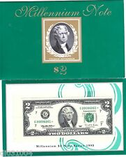 Etats UNIS AMERIQUE USA Billet 2 Dollars 1995 G CHICAGO STAR NOTE MILLENNIUM