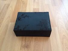 Brand New Black Chinese Jewellery Box With Inside Mirror **FREE P&P**