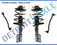 Both (2) Front Complete Strut Assemblies + (2) Sway Bar Links for Nissan Maxima
