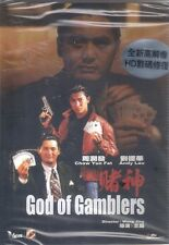 God of Gamblers DVD Chow Yun Fat Andy Lau Joey Wang NEW R0 Eng Sub Remastered Ed