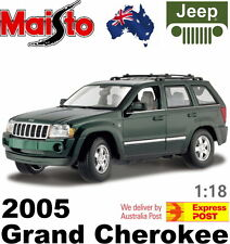 Official Maisto Special Edition Diecast 1:18  2005 Jeep Grand Cherokee