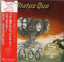 STATUS QUO-QOO  DELUXE EDITION -JAPAN 2 MINI LP SHM-CD Ltd/Ed I50