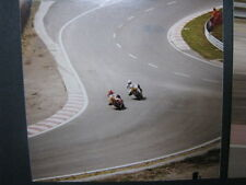 Photo Eau Rouge Lucchinelli catches Roberts Belgian GP Spa Francorchamps 1981