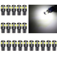 20x Brand T10 5730 8SMD LED Car Canbus Error Free Replacement Light Lamp Bulb