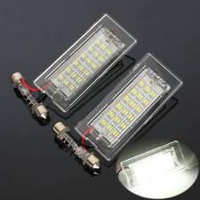 2X 12V 18 LED License Plaque Feu Phare Plate Light pour BMW X5 E53 X3 E83 03-10