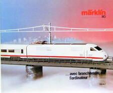 1985 1986  TRAIN MARKLIN CATALOGUE EN FRANCAIS