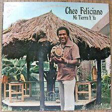 Cheo Feliciano Mi Tierra Y Yo Salsa VAYA 1977 Puerto Rico EX