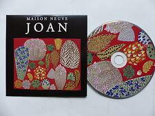 CD  album promo 11 titres MAISON NEUVE Joan TAL064