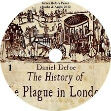 The History of the Plague in London, Audiobook by Daniel Defoe on 1 MP3 CD
