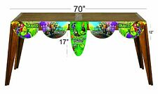 Plants vs zombies happy birthday party decoration supplies  table banner
