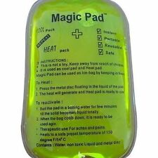 Reusable Magic GEL HEAT PAD / TRAVEL PAD for muscular pain, back aches etc