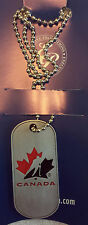 Team Canada Hockey - Pewter - Dog Tag