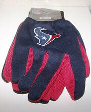 Houston Texans Logo in Glove Figurine - Red/Navy Blue