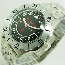 NEW AUTOMATIC RUSSIAN VOSTOK 350617 MILITARY WATCH KOMANDIRSKIE K-35 24 HOUR