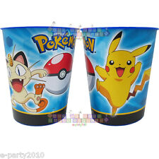 (2) POKEMON Pikachu and Friends PLASTIC KEEPSAKE CUPS ~ Birthday Party Supplies